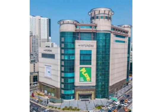 천호동 현대백화점공사 증축공사중 구조보강